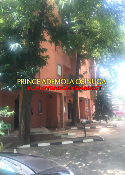 3 Bedroom Penthouse Apartment (no Fitted Kitchen) +squash+gym+pool, Old Ikoyi Lagos, Old Ikoyi, Ikoyi, Lagos, Flat / Apartment for Rent