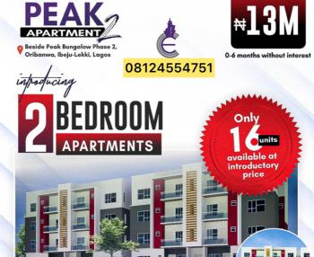 Beautifully Designed 2 Bedroom Apartments with 6 Months Plan, Few Minutes From Expressway Behind Mayfair Garden, Awoyaya, Ibeju Lekki, Lagos, Block of Flats for Sale
