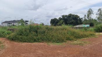 Sharp-corner Partly Fenced 2 Plots of Land with C of O, Before Eastern Blue Pearl Hotels,behind Anamco,off Airport Road, Enugu, Enugu, Mixed-use Land for Sale
