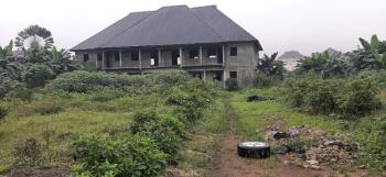 Six (6) Plots of Fenced Land with an Uncompleted Event Hall, East West Road, Eliozu, Port Harcourt, Rivers, Mixed-use Land for Rent