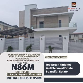 Ultramodern 4 Bedroom Fully Detached Duplex, Pearl Gardens, Sangotedo, Ajah, Lagos, Detached Duplex for Sale