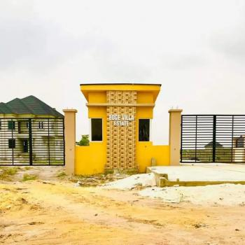 Affordable Land in an Estate, Edge Villa Estate, Eleko, Ibeju Lekki, Lagos, Residential Land for Rent
