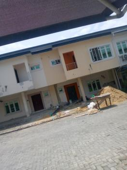 Executive All Rooms En-suite 4 Bedrooms Carcass with 24hours Light, Chevron Drive, Lekki Phase 2, Lekki, Lagos, Terraced Duplex for Sale