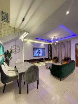 Exquisite 4 Bedroom Terrace in Serene Location, Osapa, Osapa, Lekki, Lagos, Terraced Duplex Short Let