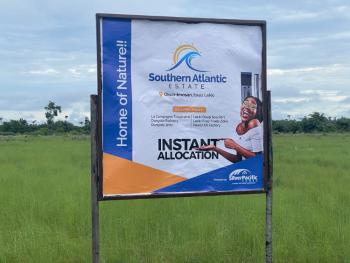 The Cheapest Land Between Two Waterfronts, It Is Very Affordable., 15 Minutes From La Campagne International Beach Resorts Centre, Okun Imosan, Ibeju Lekki, Lagos, Mixed-use Land for Sale
