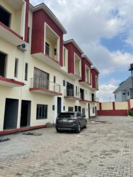 Luxury 4 Bedrooms Terrace Duplex with Bq Conner Unit, Jahi, Abuja, Terraced Duplex for Sale