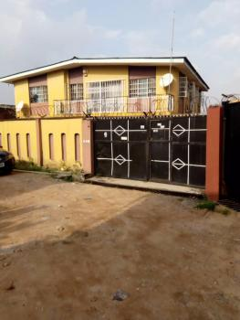 2 Units of 4 Bedroom Flat with Bungalow on Full Plot of Land, Oke Ira, Ogba, Ikeja, Lagos, Block of Flats for Sale