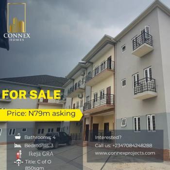 Luxurious 3 Bedroom Flat in a Highly Esteemeed Community, Ikeja Gra, Ikeja, Lagos, Flat / Apartment for Sale