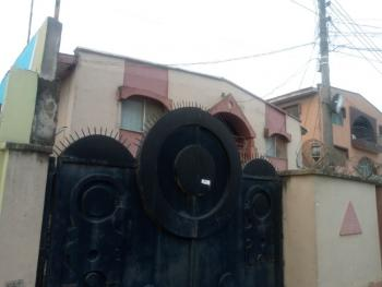 4 Units of 3 Bedroom with Mini-flat Bq, Off College Road, Ogba, Ikeja, Lagos, Block of Flats for Sale