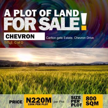 800sqm of Land, Carlton Gate Estate, Chevron Drive, Lekki, Lagos, Land for Sale