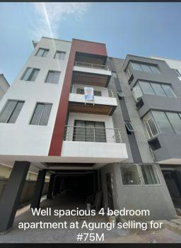 Well Finished 4 Bedroom Fully Serviced Apartment, Agungi, Lekki, Lagos, Flat / Apartment for Sale