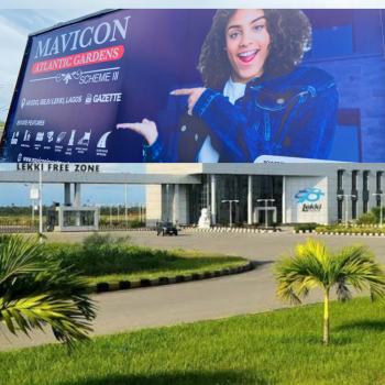 Most Affordable and Genuine Land, Mavicon Atlantic Gardens 3, Akodo, Walking Distance to The Free Zone, Ibeju Lekki, Lagos, Commercial Land for Sale