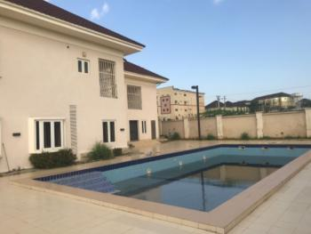 a Gorgeous 5 Bedroom Mansion + 2 Rooms Guest Chalet with Swimming Pool, Durumi, Abuja, Detached Duplex for Rent