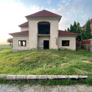 a Solidly Built Corner Unit Carcass, River Park Estate, Lugbe District, Abuja, Detached Duplex for Sale