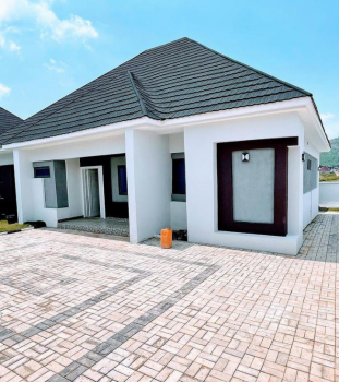 Tarred and Spacious, in an Estate, Gwarinpa, Abuja, Detached Bungalow for Sale