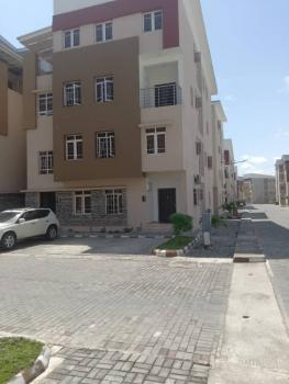 4 Bedroom Maisonette with 24 Hours Power, Shell Courtland Estate Behind Nicon Town, Osapa, Lekki, Lagos, Terraced Duplex for Rent