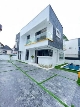Luxurious 4 Bedroom Full Detached Duplex with Swimming Pool and Bq, Addo Road Ajah, Ajah, Lagos, Detached Duplex for Sale