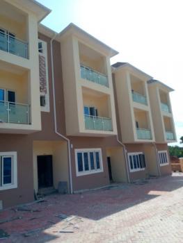 Brand New 4 Bedrooms Terraced Duplex with 1 Room Bq Luxury Apartment, Guzape District, Abuja, Terraced Duplex for Rent