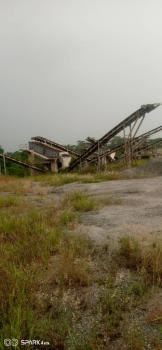 Functional Quarry with Machines on 73 Acres, Well Developed, Odeda, Ogun, Factory for Sale