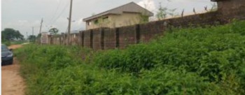 Land with C of O, Fenced with Unclompleted Structures Inside, Idu Industrial, Abuja, Industrial Land for Sale