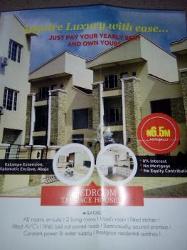 Brand New Luxury 4 Bedrooms Terraced Duplex, Rent to Own, Diplomatic Zone, Katampe Extension, Katampe, Abuja, Terraced Duplex for Rent