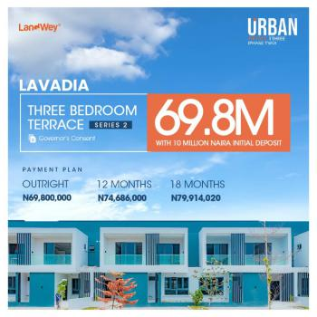 Luxuriously Finished 3 Bedroom Terraced Duplexes, Ogombo Road, Ajah, Lagos, Terraced Duplex for Sale