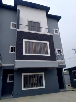 Brand New Service 4 Bedrooms Terrace Duplex, Study Room & Bq, Phase 2, Gra, Ogudu, Lagos, Terraced Duplex for Sale