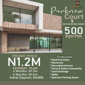 500sqm Land, Mkh Parkview Estate, Ido, Oyo, Residential Land for Sale
