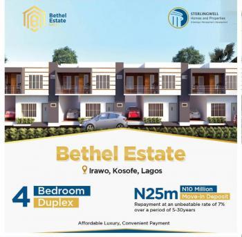 4 Bedroom Terrace Duplex, Irawo, Kosofe, Lagos, Terraced Duplex for Sale