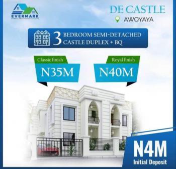 Luxuriously Finished 3 Bedroom Semi Detached Duplex with Bq, Awoyaya, Ibeju Lekki, Lagos, Semi-detached Duplex for Sale