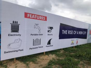100% Dry Lagoon View Estate with a Perfect C of O Title, Alaro City, Epe, Lagos, Residential Land for Sale