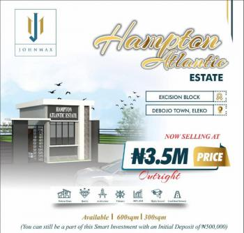 Hamton Atlantic Estate, Debojo Costal Road Inside, Eleko, Ibeju Lekki, Lagos, Residential Land for Sale