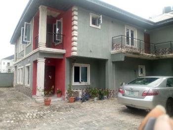 Clean 4 Bedrooms Terraced Duplex, Off Mobil Road, Ilaje, Ajah, Lagos, Flat / Apartment for Rent