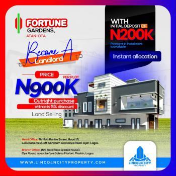 Land, Fortune Gardens, Atan Ota, Ado-odo/ota, Ogun, Mixed-use Land for Sale