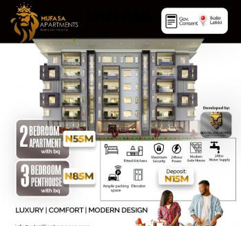 Luxury, Comfort and Modern Design of 3 Bedroom Penthouse with Bq, Ikate Elegushi, Lekki, Lagos, Flat / Apartment for Sale