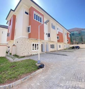 Well Finished Fully Serviced 4 Bedroom Terrace with a Room Bq, Ikate Elegushi, Lekki, Lagos, Terraced Duplex for Rent