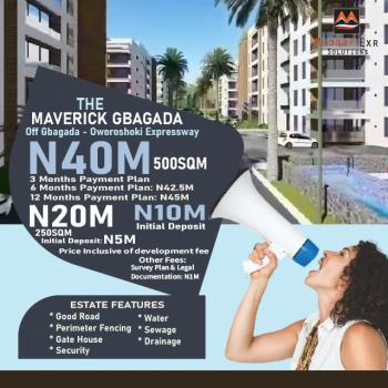 Land, The Maverick Estate, By Gbagada- Anthony/oshodi Expressway, Gbagada, Lagos, Land for Sale