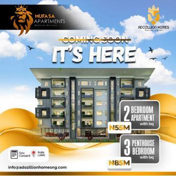 2 Bedroom Apartment at Mufasa Apartment, Eru Ifa, Ikate Elegushi, Lekki, Lagos, Block of Flats for Sale