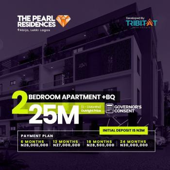 2 Bedroom Apartment, Pearl Residence, Abijo, Lekki, Lagos, Block of Flats for Sale
