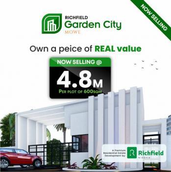 100% Dry C of O Land, Off Lagos-ibadan Expressway, Mowe Town, Ogun, Mixed-use Land for Sale