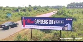Strategically Located Land in, Max Gardens City, Umuahia, Abia, Mixed-use Land for Sale