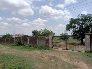 3.6 Hectares( Fenced Round) Multipurpose, Airport Road, Close to Dantata Bridge, Central Business District, Abuja, Mixed-use Land for Sale