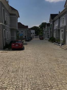 3 Bedroom Semi Detached Duplex with a Bq in an Estate, Guzape District, Abuja, Semi-detached Duplex for Rent