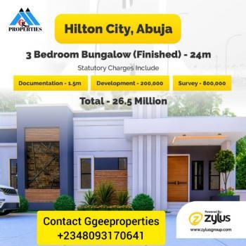 Luxury 3 Bedroom Bungalows, New Kurudu Market,by Deeper Life Road., Kurudu, Abuja, Flat / Apartment for Sale