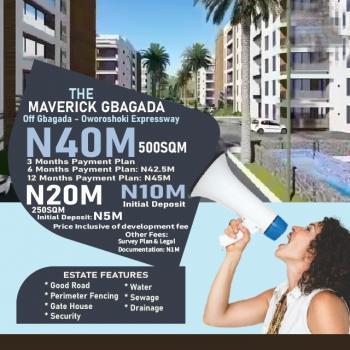 Plots of Land. The Maverick Estate, Gbagada - Anthony/oshodi Expressway, Gbagada, Lagos, Mixed-use Land for Sale
