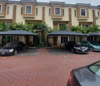 Nicely Finished and Fully Serviced 4 Bedroom Terrace  with a Room Bq, Ikate, Lekki, Lagos, Terraced Duplex for Rent
