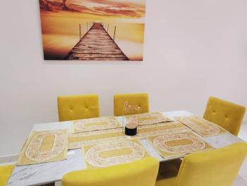Exquisitely Finished 3 Bedroom Terrace Duplex, Abiola Court, Ikate Elegushi, Lekki, Lagos, Terraced Duplex Short Let