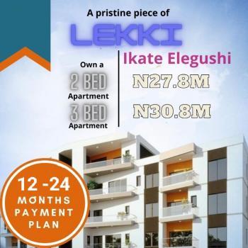 2  Bedroom Flat (with Flexible Payment Plan), Ikate Elegushi, Lekki, Lagos, Flat / Apartment for Sale