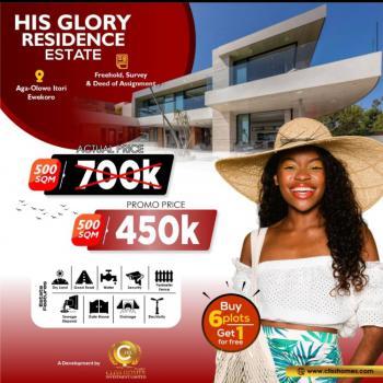 Dry Estate Land, His Glory Residence Estate, Aga-olowo Itori, Ewekoro, Ogun, Mixed-use Land for Sale