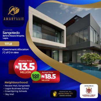 Amaryllis, Behind Novare Mall Shoprite, Ajah/amaryllis, Sangotedo, Ajah, Lagos, Residential Land for Sale